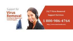 virus removal
